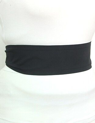 4298502ef1f2 ... BLACK cotton fabric Oriental Japanese style Obi yukata kimono belt sash  ribbon 7