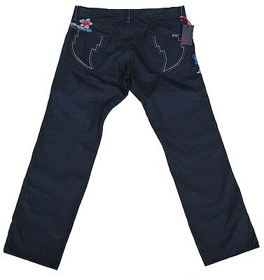 Energia Jeans Uomo Pantaloni Tony Champa BIANCO t00257