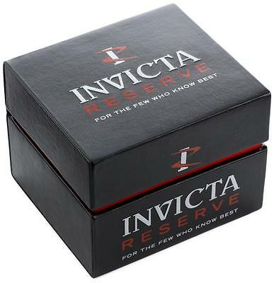 Invicta Reserve 13765 Arsenal Men's Swiss Made Chrono Automatic Watch NEW 6