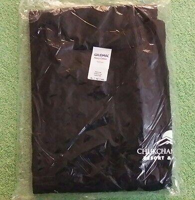 Chukchansi Gold Resort & Casino Black XL Tee Shirt Gildan Heavy Cotton