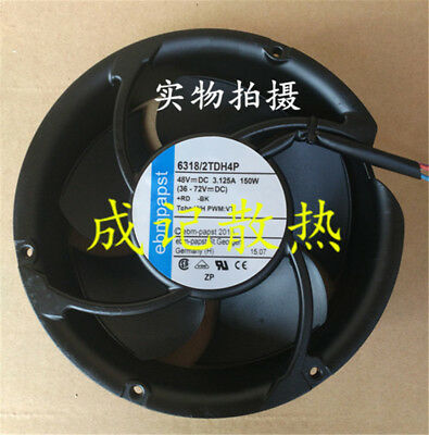 1Pcs ebmpapst 17251 6318/2TDH4P DC48V 150W Four-wire fan #M4260 QL 2