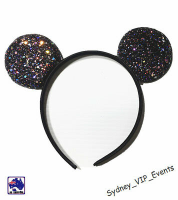 Mickey Minnie Mouse Ears Headband Party Costume Bow Fancy Dress 7 Colours Option 4