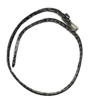 Women Girls Black Faux Leather 2cm Thin Studded Brushed Steel Belt Sizes S-XXL 3