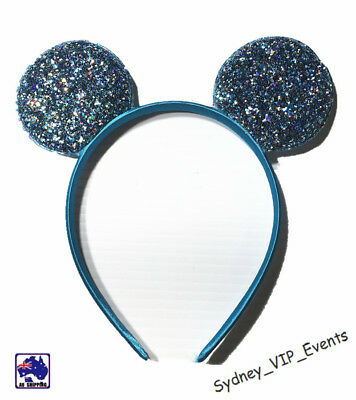 Mickey Minnie Mouse Ears Headband Party Costume Bow Fancy Dress 7 Colours Option 3