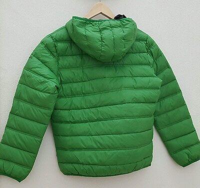 CMP CAMPAGNOLO STEPPJACKE Jacke Daunenjacke mit Kapuze grün