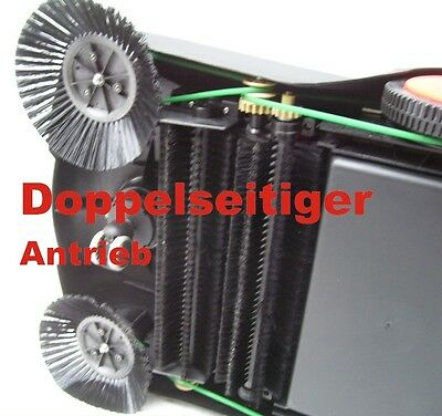Barredora mecánica 700mm manual Barrendero 20 litros ancho de trabajo 70 cm