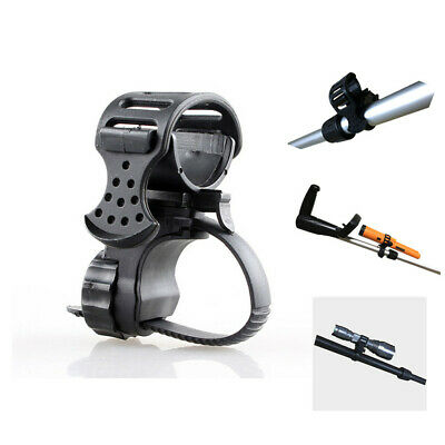 Metal Detector Detecting PIN POINTER Flashlight Holder Mount Torch Clips Clamp 5