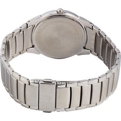 Bulova Men's 96B149 Classic Quartz Black Dial Silver-Tone Bracelet 38mm Watch 2