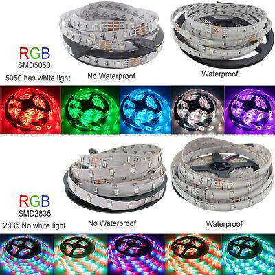 LED Strip Light RGB 5050 SMD 2835 Flexible Ribbon RGB Stripe 5M 10M 15M tape kit 3