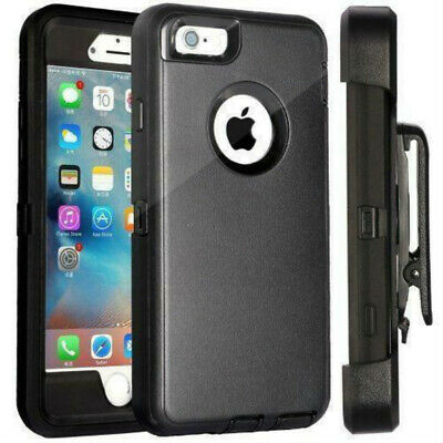 For iPhone 6s 7 8 Plus XS max XR Case Belt Clip Holster fits Otterbox Defender 3