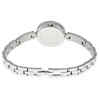 Bulova Women's 98X107 Quartz Crystal Accents Silver-Tone 25mm Watch 4