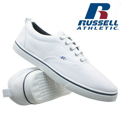 Mens Russell Athletic Trainers Casual Canvas Skates Pumps Shoes Plimsolls Size 4