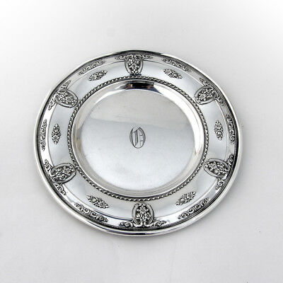 Rose Point Bread and Butter Plates Set of 4 Sterling Silver Wallace 1934 2