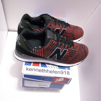 the best attitude 4ba2a d6a0e NEW BALANCE 574 Beaded Shoes Ml574Tbe Black Flame Mens Size 9