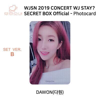 WJSN 2019 Concert WJ STAY Secret Box Official Photocard SET B KPOP K-POP 7
