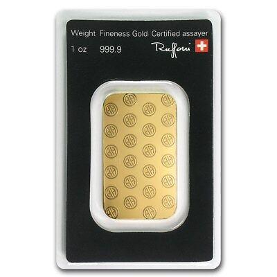 1 oz Gold Bar - Argor-Heraeus - eBay - SKU #82987 2