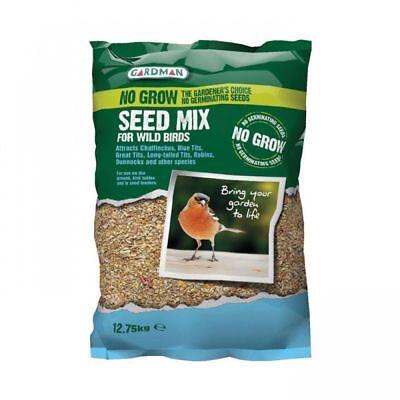 Gardman No Grow Wild Bird Feed Seed Mix - 12.75kg 3