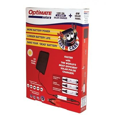 Chargeur de Batterie solaire Tecmate OPTIMATE SOLAR 12V 2>240Ah NEUF 3