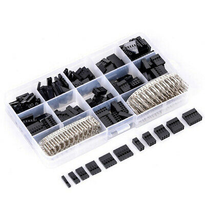 620Pcs Male Female Jumper Header Wire Connector Kit+SN01B Terminal Crimping Tool 7