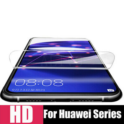 For Huawei P30 Pro Lite Full Cover Soft 9D Hydrogel TPU Screen Protector De jc 6