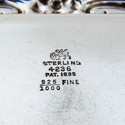 Pin Tray Sterling Silver Whiting 1895 3