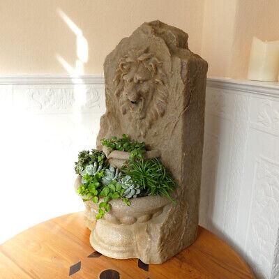 Blumentopf Sukkulente Buddha Skulptur Pflanzgefäß Figur Pflanzschale Pflanzkübel