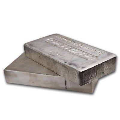 100 oz Silver Bar - Engelhard - SKU #166597 2