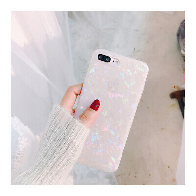 For iPhone 8 7 Plus XS MAX XR Marble Shockproof Silicone Soft Phone Case Cover 5