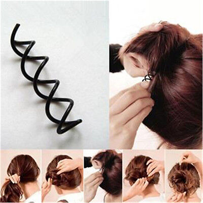 Hair Styling 10pcs Spiral Spin Screw Bobby Pin Hair Clip Twist Barrette Bl La 2