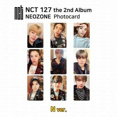 NCT127 2nd Album NCT #127 NEO ZONE Official Photocard Circle card KPOP K-POP 4