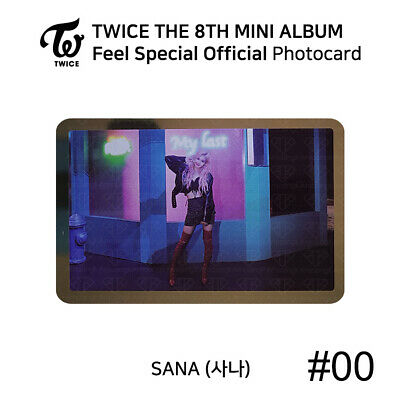 TWICE - 8th Mini Album Feel Special Official Photocard - SANA 12