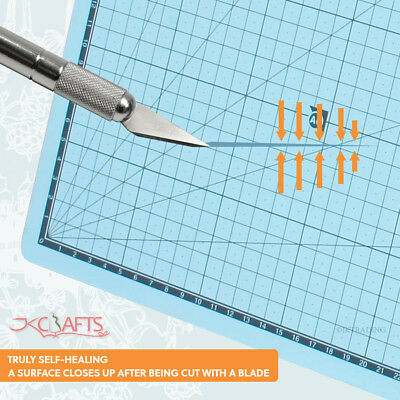 A3 3-Ply Double Faced Self Healing Craft Cutting Mat Quilting Scrapbooking