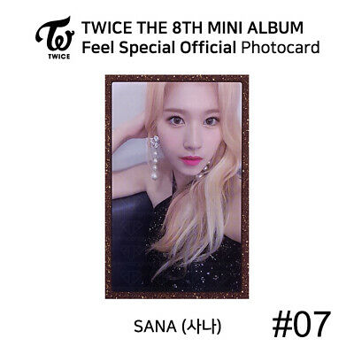TWICE - 8th Mini Album Feel Special Official Photocard - SANA 8