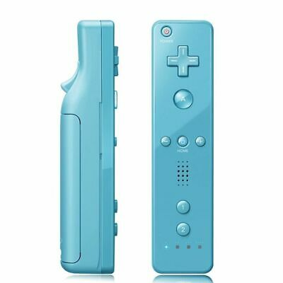 Built in Motion Plus Remote Controller For Nintendo Wii & Wii U Wiimote Gel Case 7