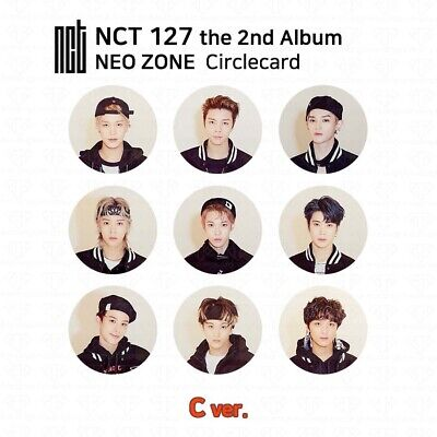 NCT127 2nd Album NCT #127 NEO ZONE Official Photocard Circle card KPOP K-POP 7