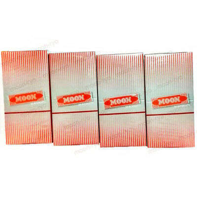 4 Boxes 1.0 inch Moon Red Cigarette Tobacco Rolling Papers 200 booklets 70*36mm 2