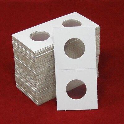 100 Cardboard 2x2 Coin Holder Mylar Flips for Quarters 2