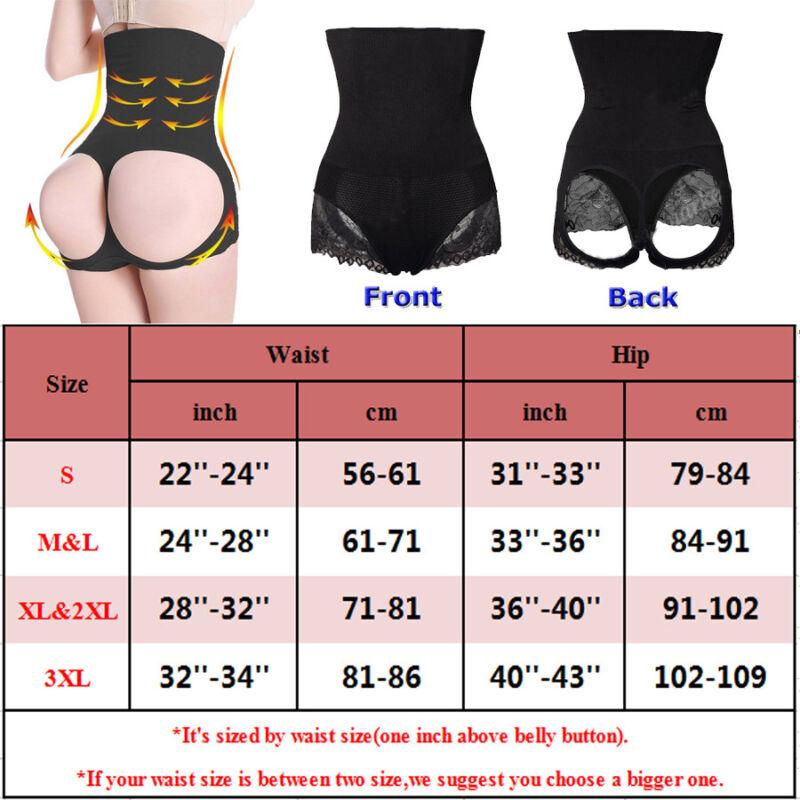 Women Slim Waist Trainer Cincher Body Shaper Panty Butt Lifter Underwear Corset 5
