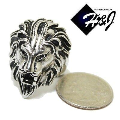 USA Seller Men/'s Stainless Steel The Lion King Biker Ring Size 8-14 SR64