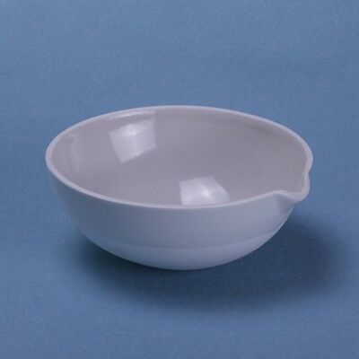 100ml Ceramic Evaporating dish Round bottom with spout For Laboratory 3
