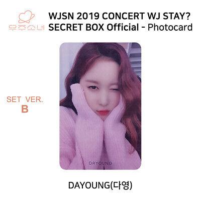 WJSN 2019 Concert WJ STAY Secret Box Official Photocard SET B KPOP K-POP 10