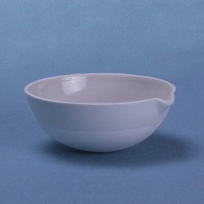 100ml Ceramic Evaporating dish Round bottom with spout For Laboratory 4