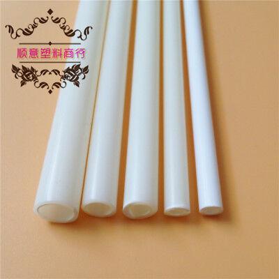 10 pcs ABS Styrene Plastic Rectangular Tube Pipe Width 10mmX250mm White #B49 GY 2