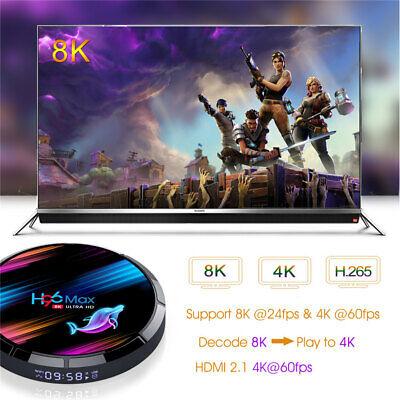 2020 H96 MAX X3 4GB+64GB Android 9.0 TV Box Smart Amlogic S905X3 Dual WIFI BT UK 3
