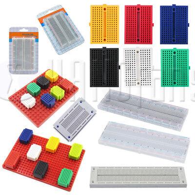 25/55/170/270/400/700/830 Mini Colorful Breadboard Prototype Develop Plates ATF 2