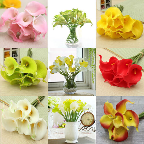 15Head Real Latex Touch Rose Flowers For wedding Home Design Bouquet De Rs