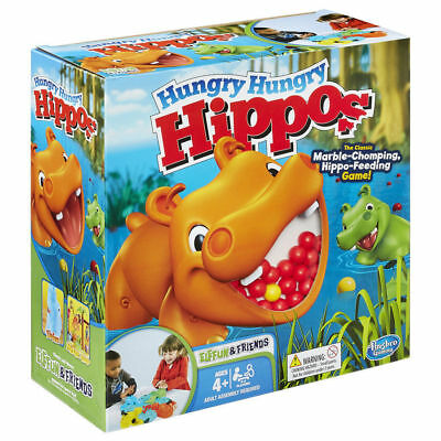 Frog Frenzy Board Game Children Kids Family Toy Xmas Gift Hungry Frogs Hippos 2