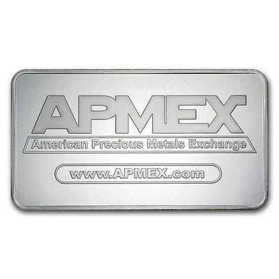 10 oz Silver Bar APMEX - SKU #88929