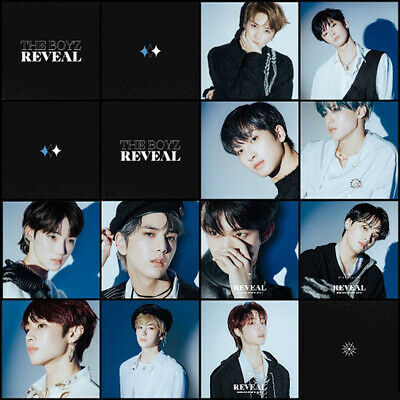 THE BOYZ REVEAL 1st Album CD+POSTER+Photo Book+Post Card+Film+Card+Fortune+GIFT 6