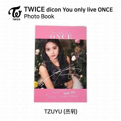TWICE x dicon You Only Live ONCE Card Photo Book Postcard Tzuyu KPOP K-POP 3
